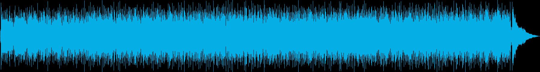 明るく高揚するビンテージロックンロールミの再生済みの波形