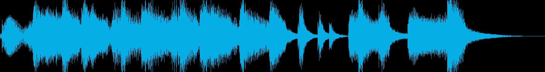 軽やかでワクワクなジングル・アイキャッチの再生済みの波形