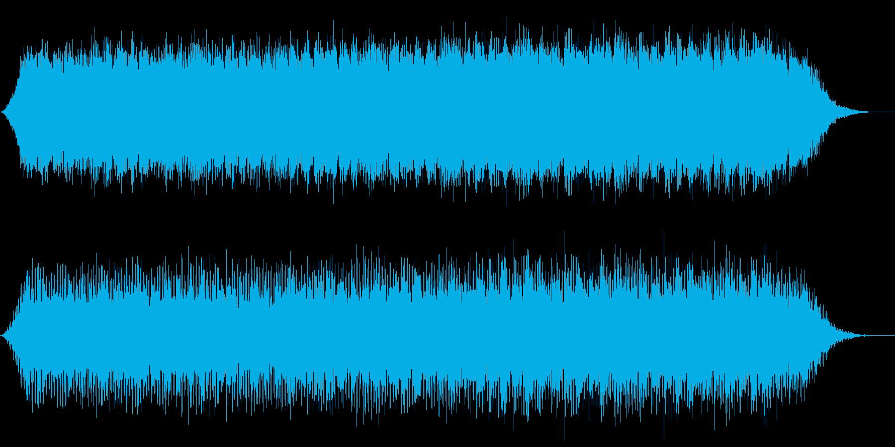 雨の時間をイメージの再生済みの波形