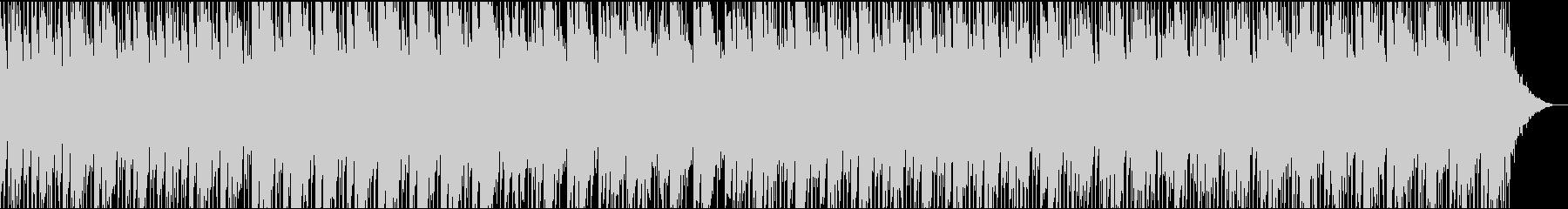 可憐なピアノの和風曲の未再生の波形