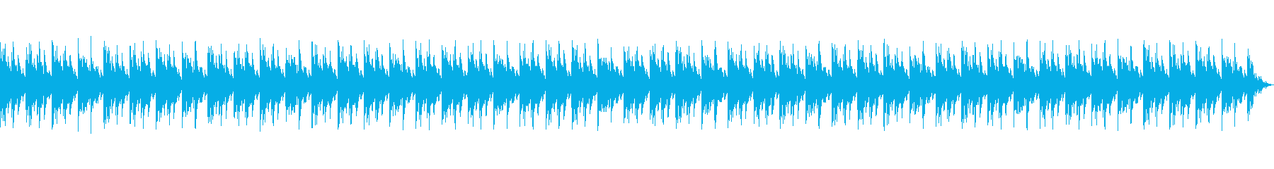 古いフィルムやラジオ lofiピアノの再生済みの波形