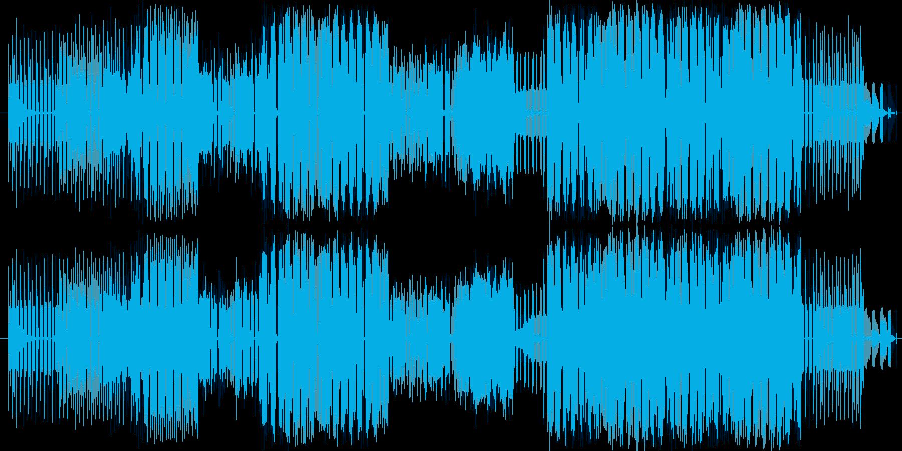 KORG DS-10をメインリズムマシ…の再生済みの波形