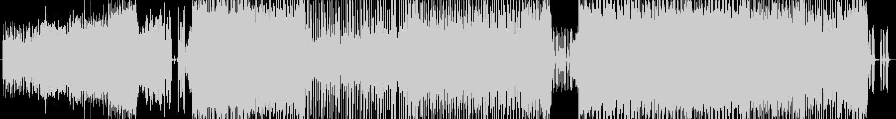 オーケストレーションがメインのロック調の未再生の波形