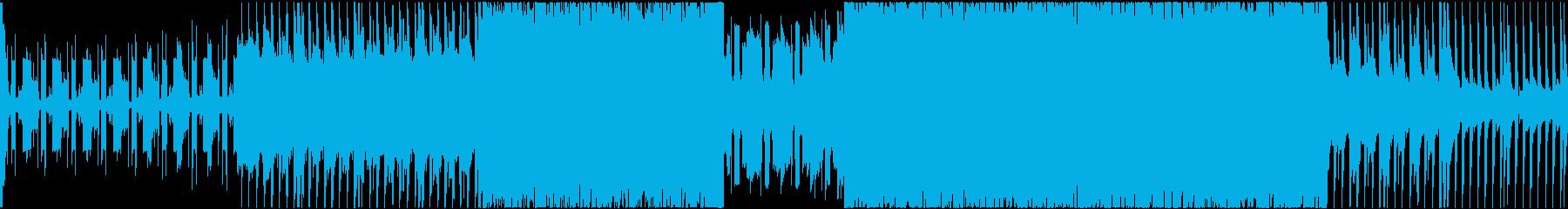 【ループ仕様】シンプルなRPGバトル曲の再生済みの波形