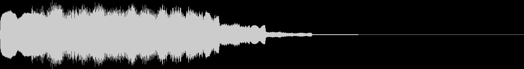 DOREMI ドレミ音階 キラキラFX2の未再生の波形