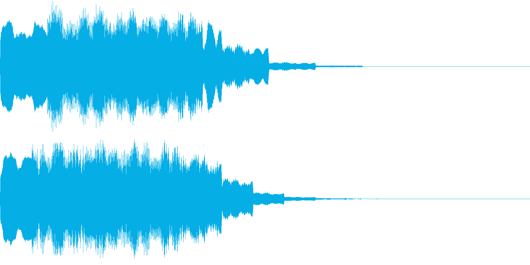 DOREMI ドレミ音階 キラキラFX2の再生済みの波形