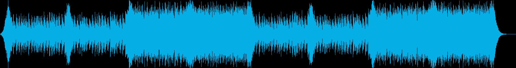 企業VPや映像49、壮大、オーケストラaの再生済みの波形