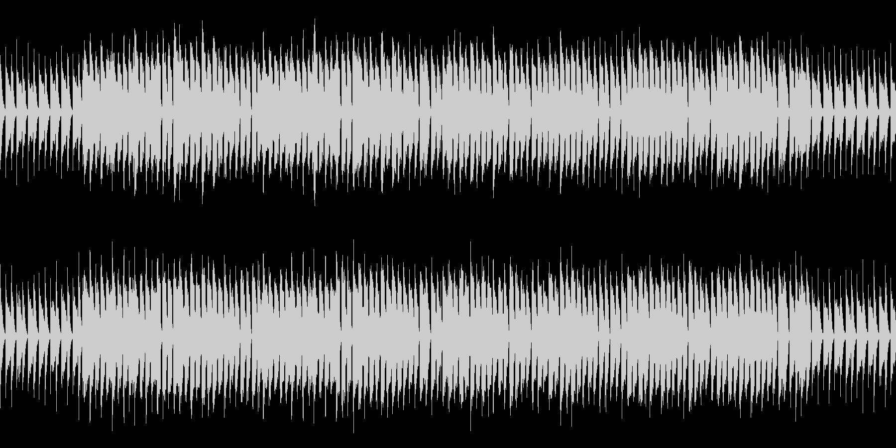 ループ ほのぼのかわいい日常系ポップスの未再生の波形