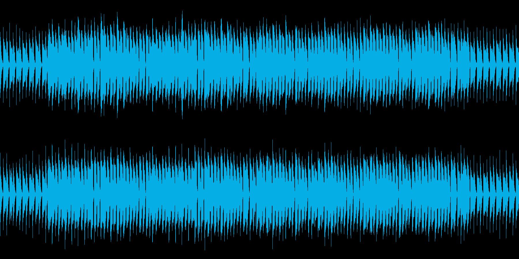 ループ ほのぼのかわいい日常系ポップスの再生済みの波形