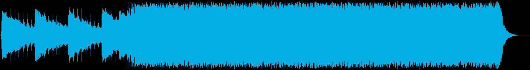 恐ろしい、ハードロックのインストゥ...の再生済みの波形