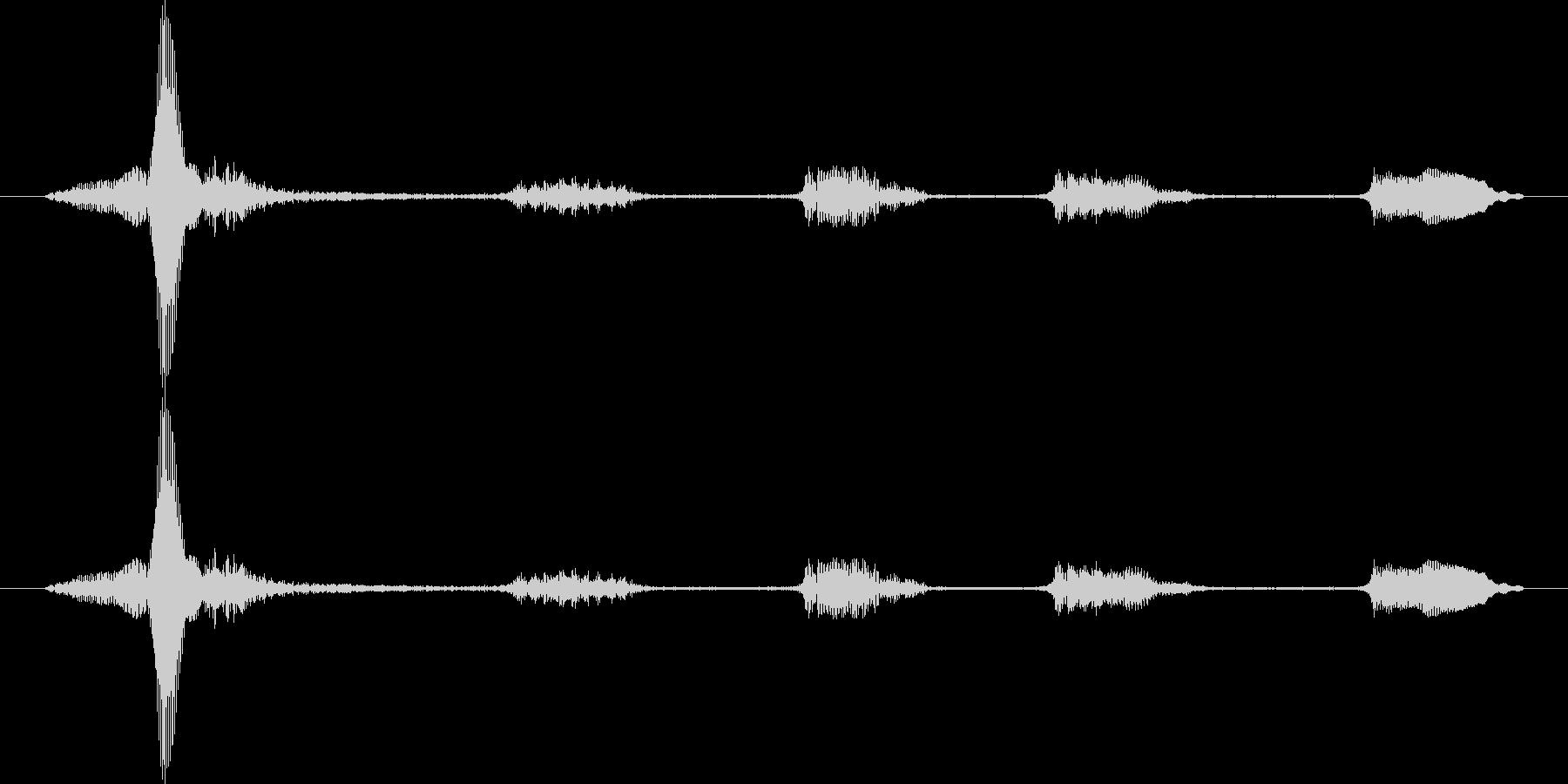 うふふふふの未再生の波形