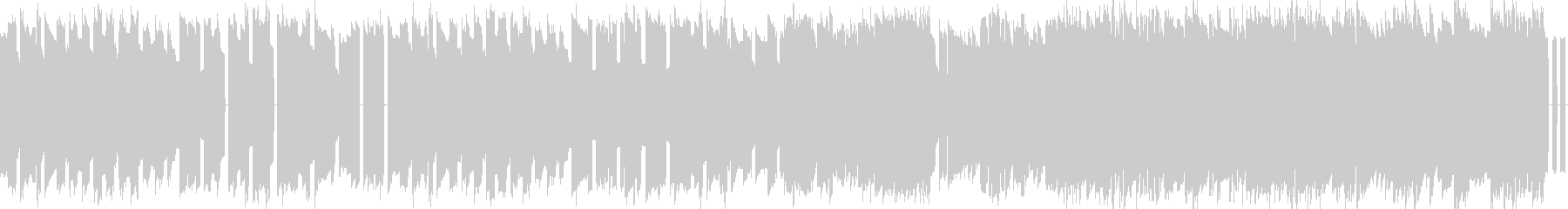 フィールド曲8bitファミコンBGMの未再生の波形