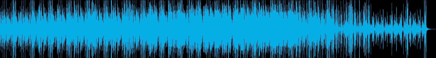 Funky Jazz Swing の再生済みの波形