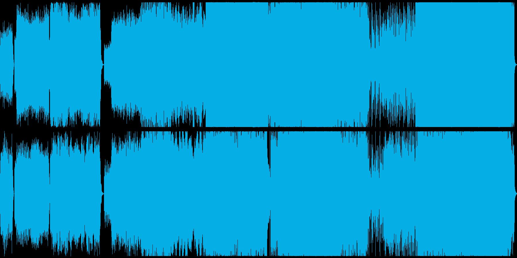 童謡「さくらさくら」ハードロックアレンジの再生済みの波形