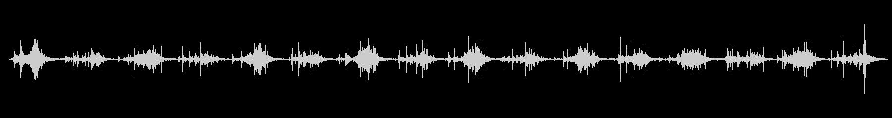 ハーネス ライトウォークシーケンス03の未再生の波形