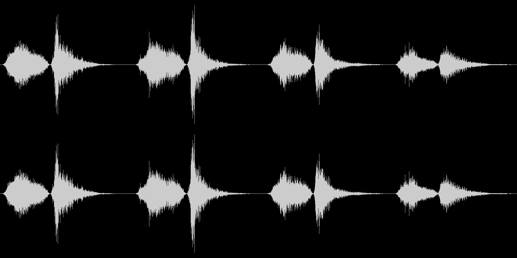 モンスター いびきブレス03の未再生の波形