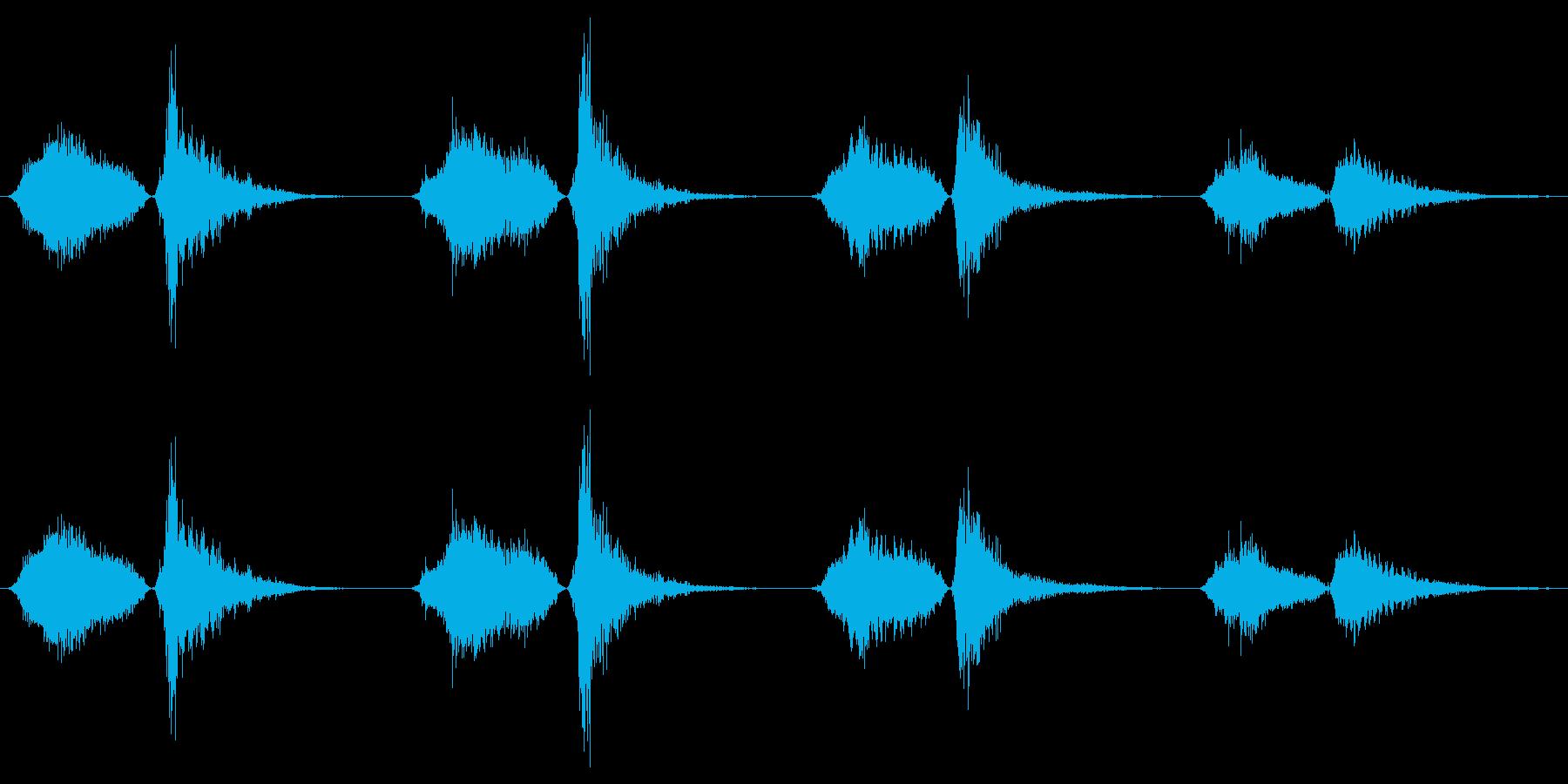 モンスター いびきブレス03の再生済みの波形