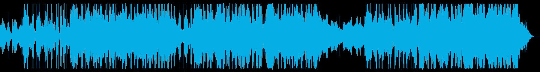 PopでHipHopなビートの再生済みの波形