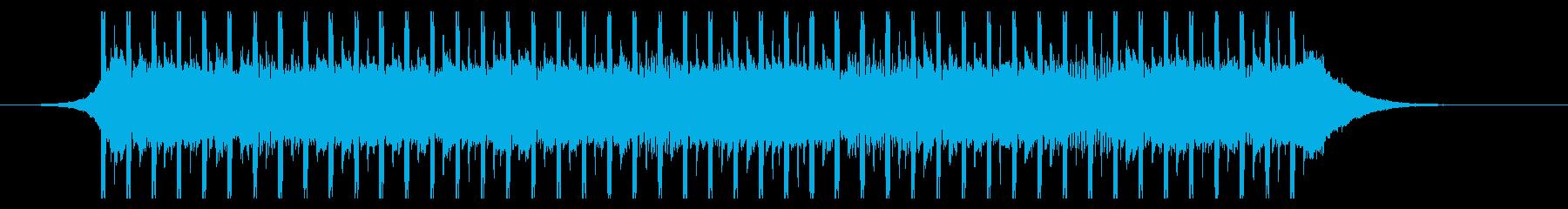 作業中(30秒)の再生済みの波形