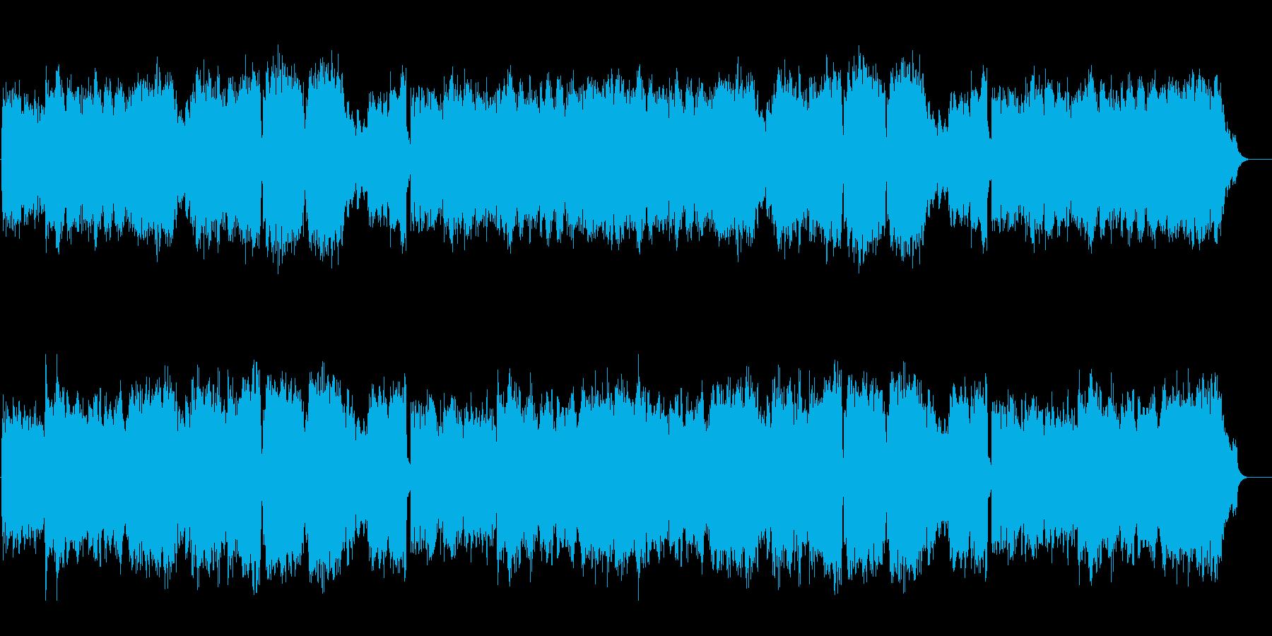 ヨーロピアンエレガントを醸し出す上品な曲の再生済みの波形