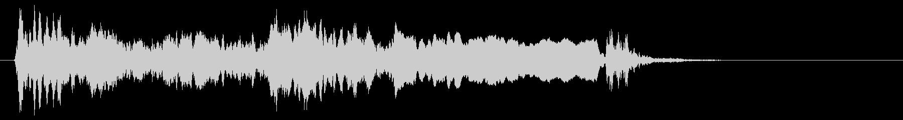 蒸気機関車の汽whiの未再生の波形