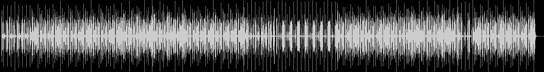ボイパ風のリズムが不思議な気分のテクノの未再生の波形