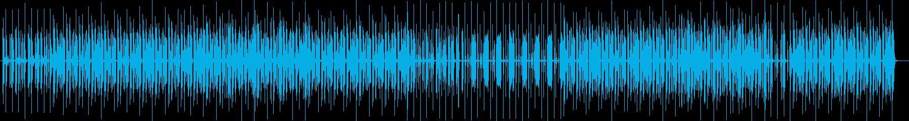 ボイパ風のリズムが不思議な気分のテクノの再生済みの波形