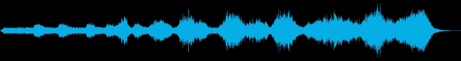 静謐な和風アンビエントの再生済みの波形