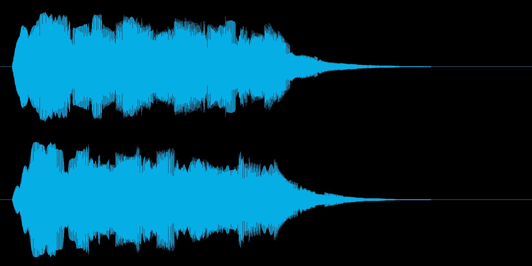 ブォァァーーーーの再生済みの波形
