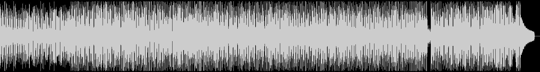 ウクレレと口笛の明るく楽しい元気なBGMの未再生の波形