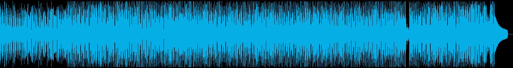 ウクレレと口笛の明るく楽しい元気なBGMの再生済みの波形