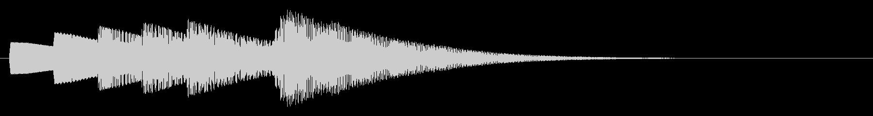 KANT入店音ジングル010144の未再生の波形