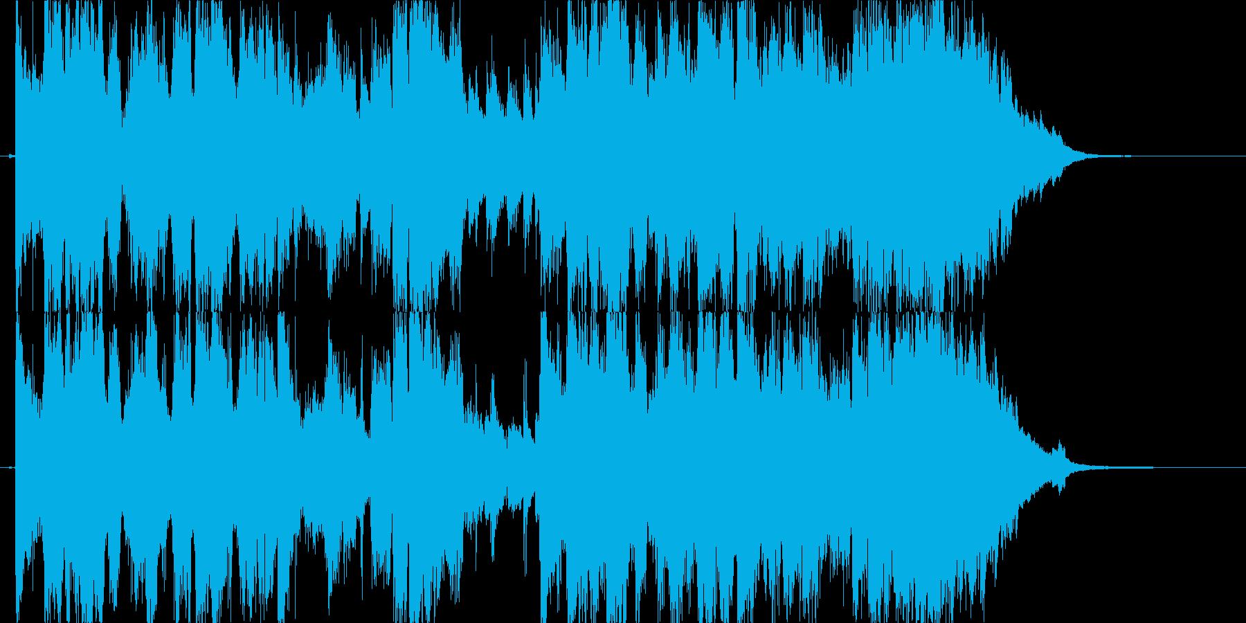 やさしく上品な男性英詞ボーカルの再生済みの波形