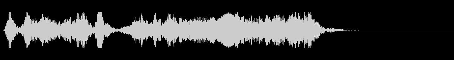 ロックなアイキャッチの未再生の波形