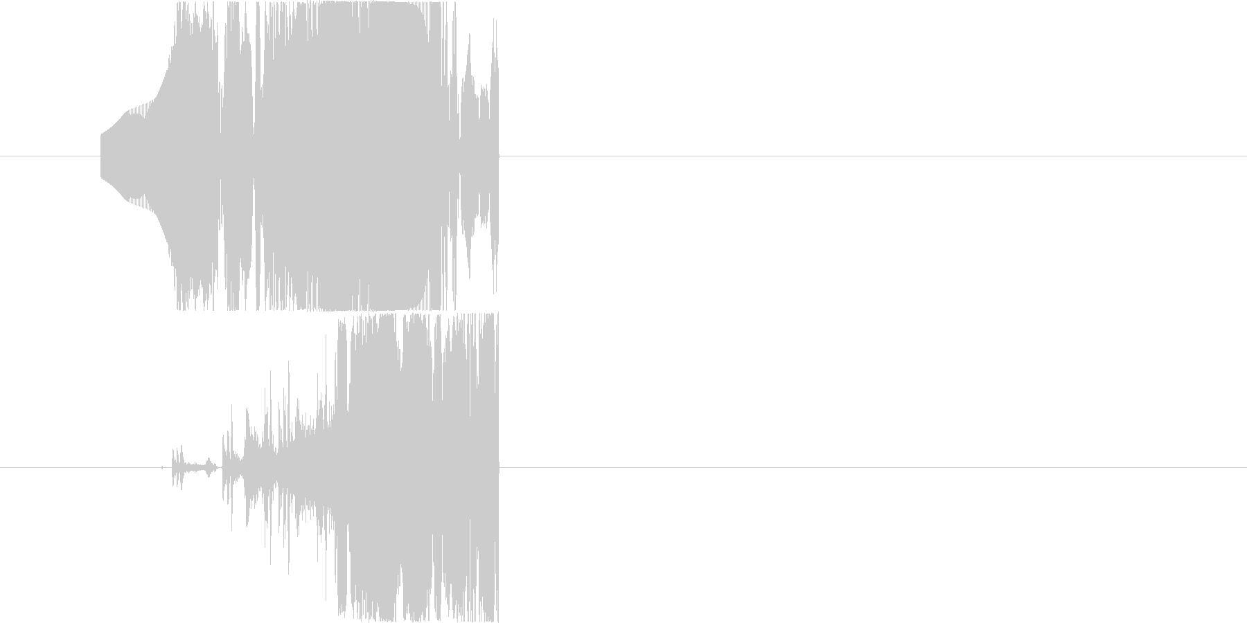 STRANGEFLY VERSION 5の未再生の波形