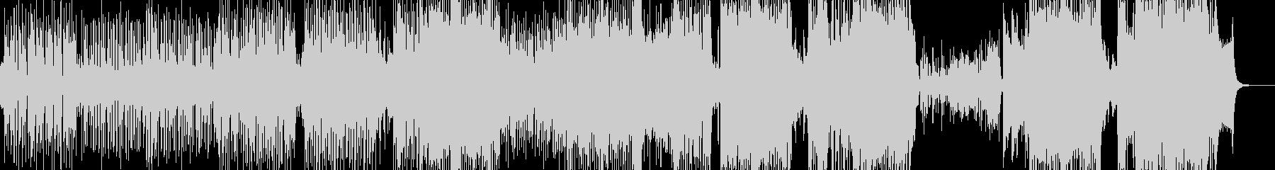 ウクレレ・南国のアコギテクノポップ ★の未再生の波形