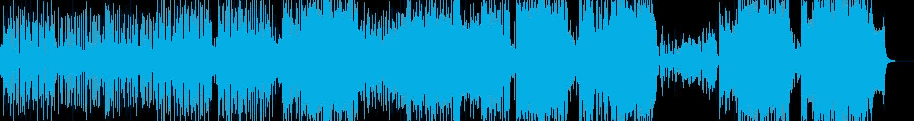 ウクレレ・南国のアコギテクノポップ ★の再生済みの波形