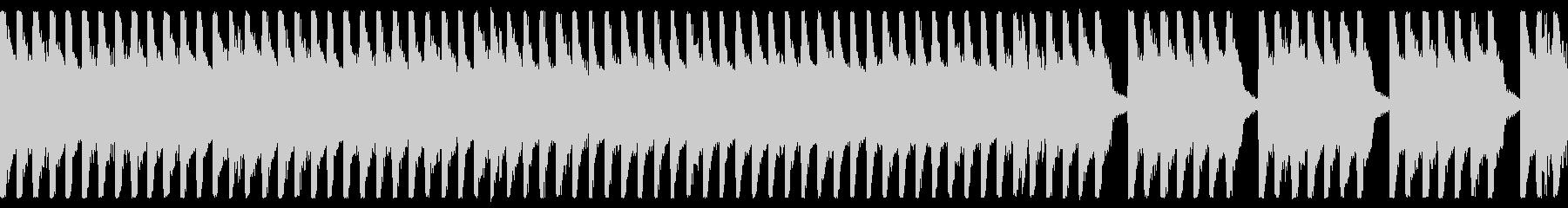 8bit ほのぼの楽しいBGM ループ用の未再生の波形
