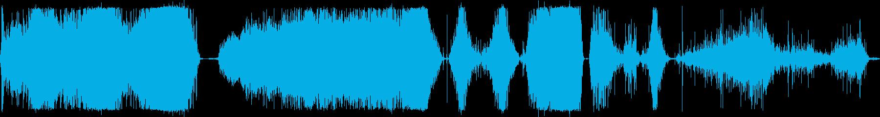 芝刈り機プッシュガラガラの再生済みの波形