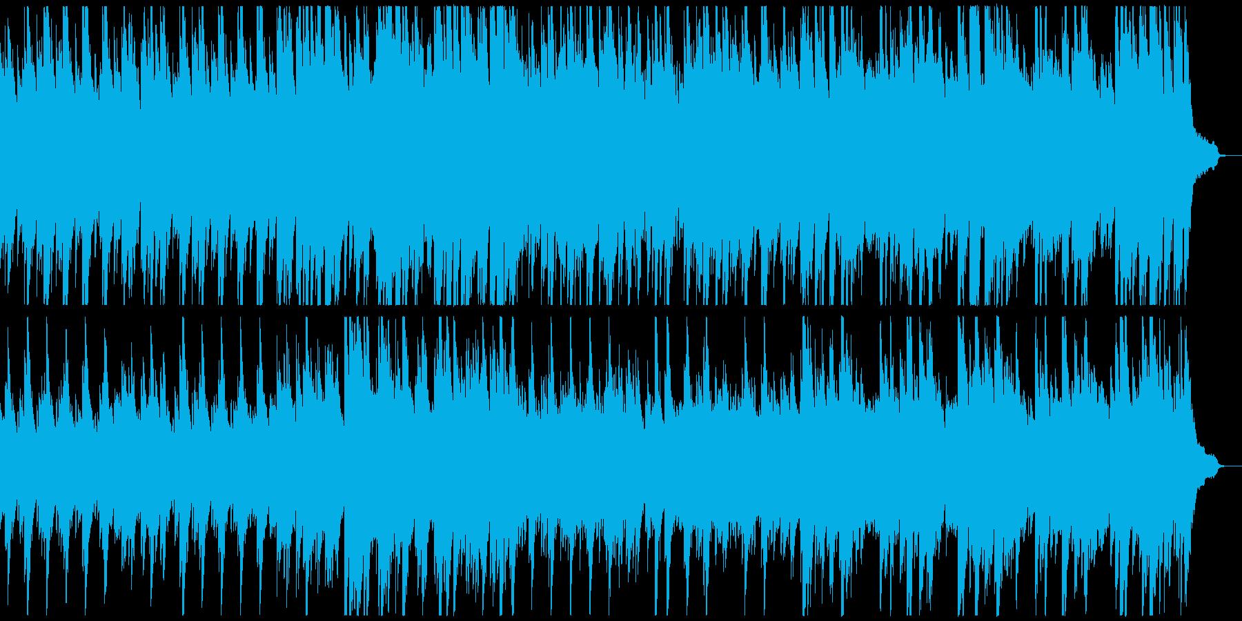 決意新たに、最初の一歩を踏み出すピアノ曲の再生済みの波形