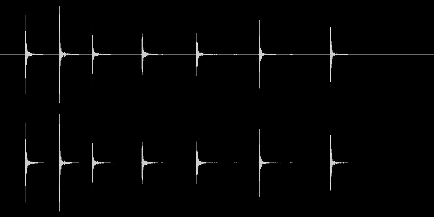 時計 アラーム03-07(ダイアル)の未再生の波形