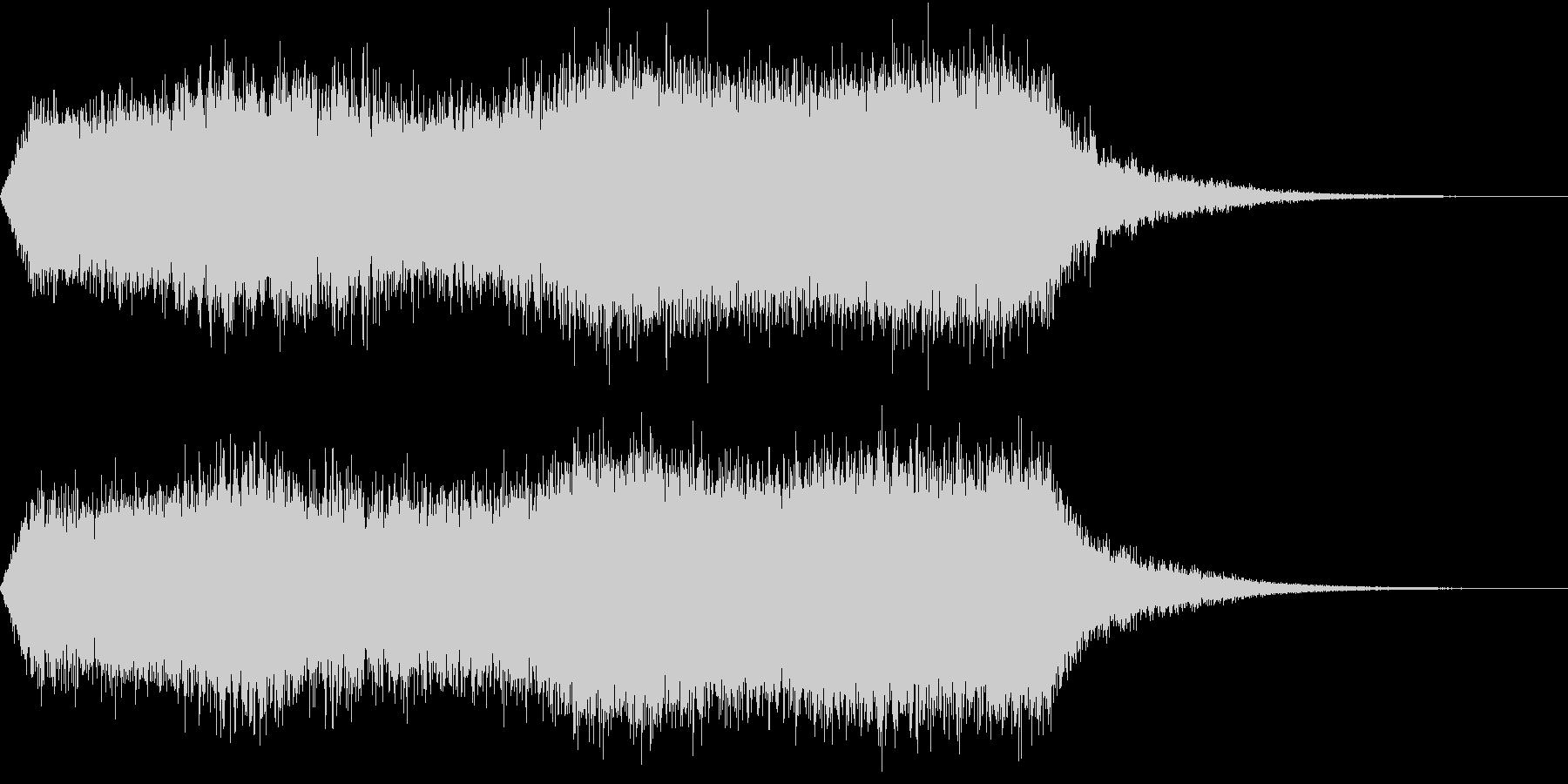 CINEMATIC RISER_22の未再生の波形