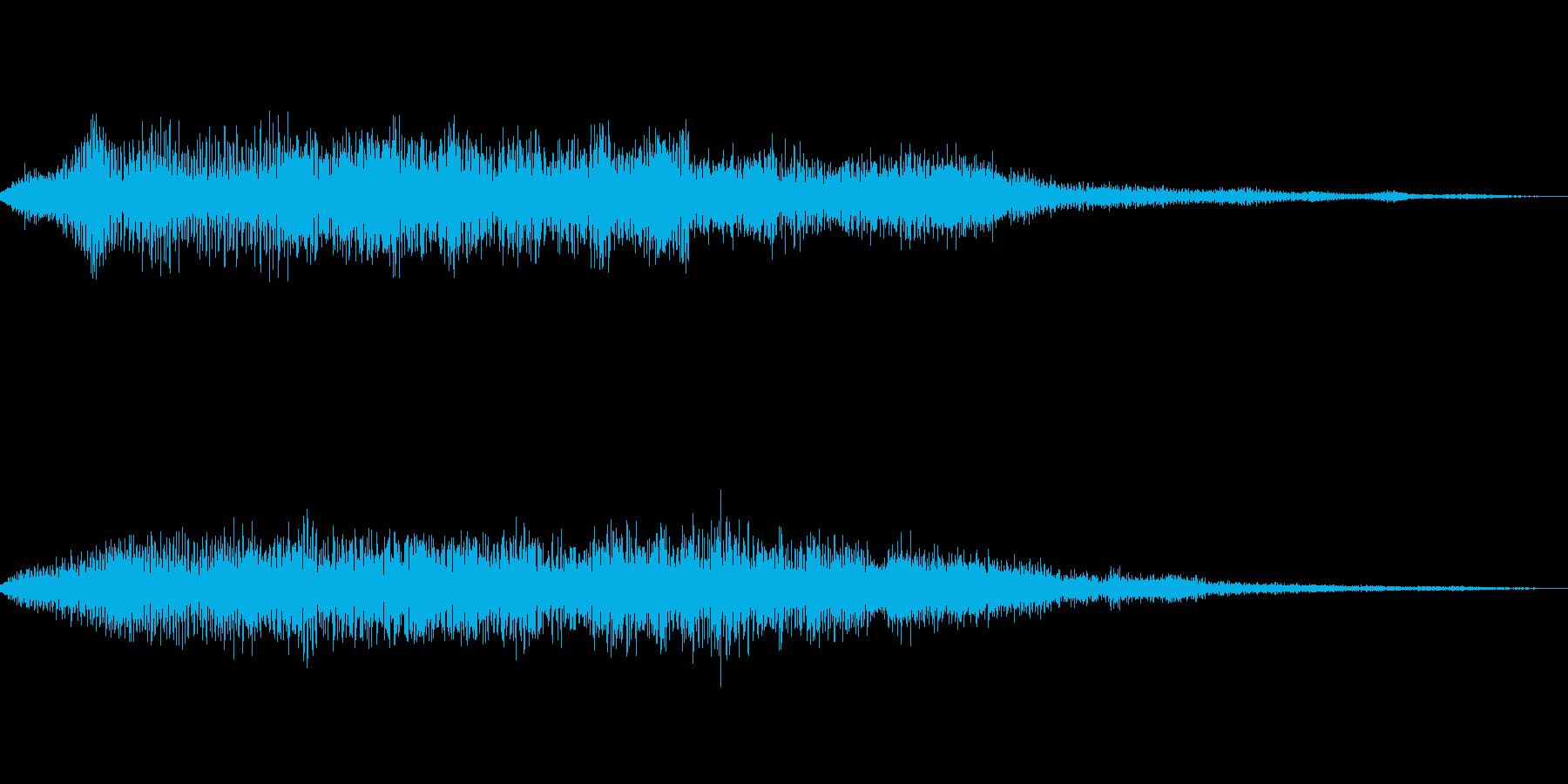 [ヒュイーン]バフ・回復魔法(クール)の再生済みの波形