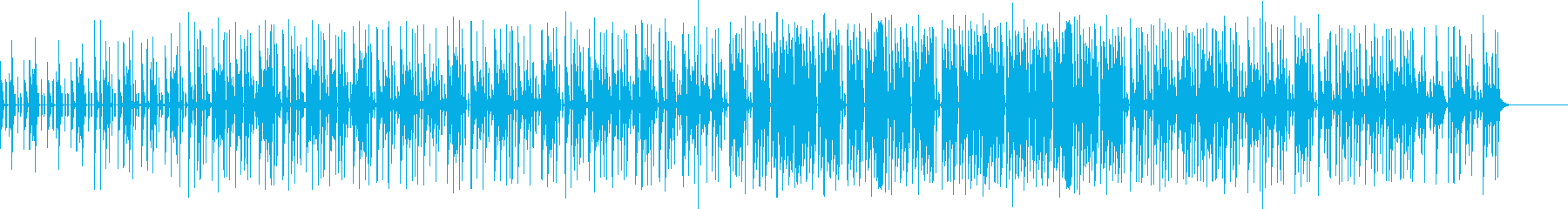 ドラムロールM クイズBGM スネアの再生済みの波形