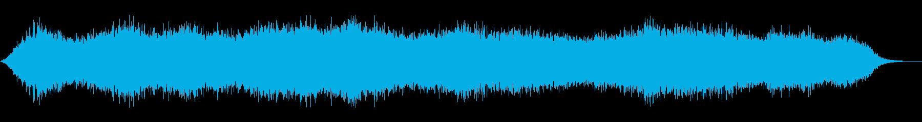 神秘的 壮大 アンビエント ドローンの再生済みの波形