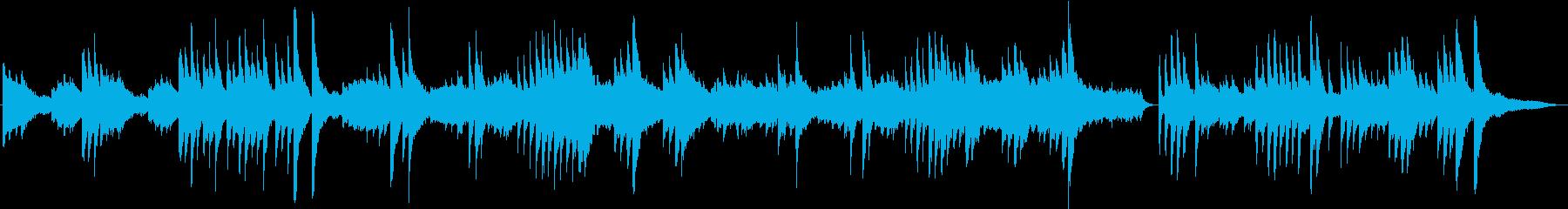 夢色のふわっとした雰囲気のBGMの再生済みの波形
