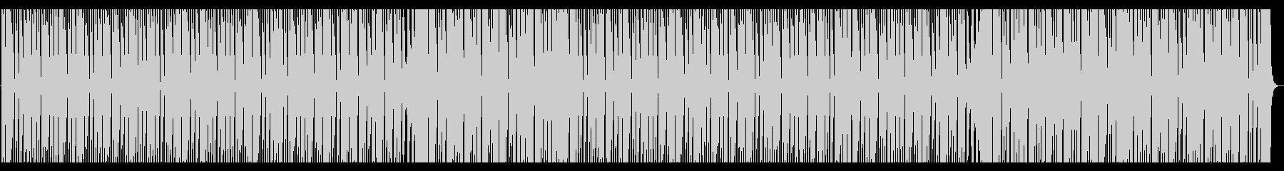 涼しげなディープハウス_No376の未再生の波形