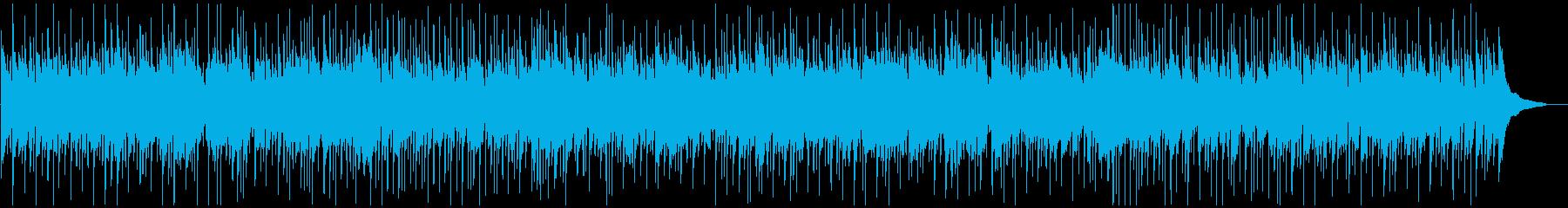 ピアノ、カントリーバラードの再生済みの波形