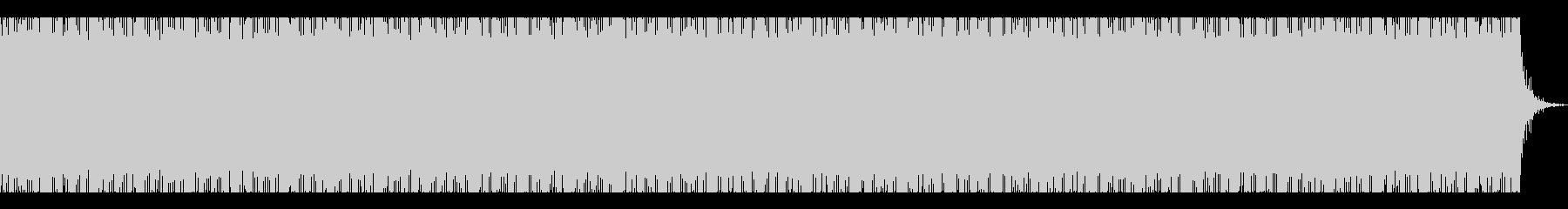 ハロウィンのおばけのBGMの未再生の波形