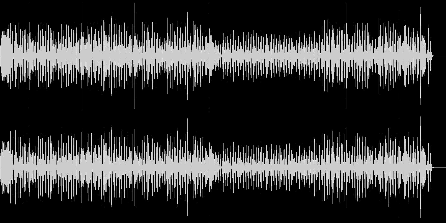 晴れた日の散歩道1(ピアノ)の未再生の波形